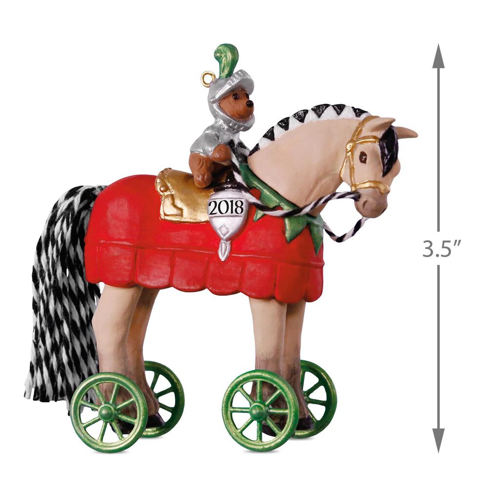 A Pony for Christmas Knight in Shining Armor Ornament - Keepsake ...