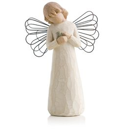 Willow Tree® Angel of Healing Friendship Figurine, , large