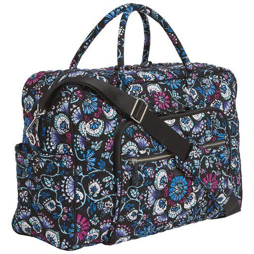 Vera Bradley Iconic Weekender Travel Bag In Bramble