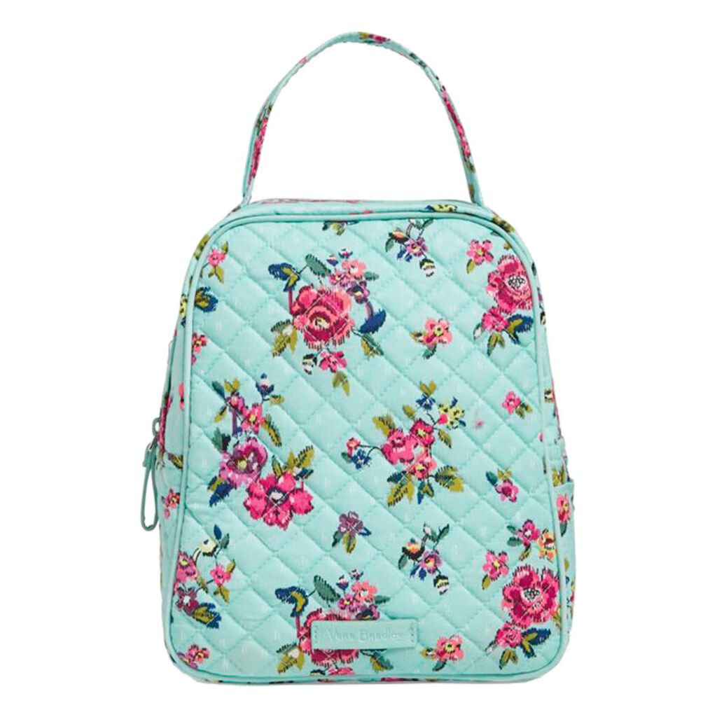 Vera Bradley Iconic Lunch Bunch Bag In Water Bouquet