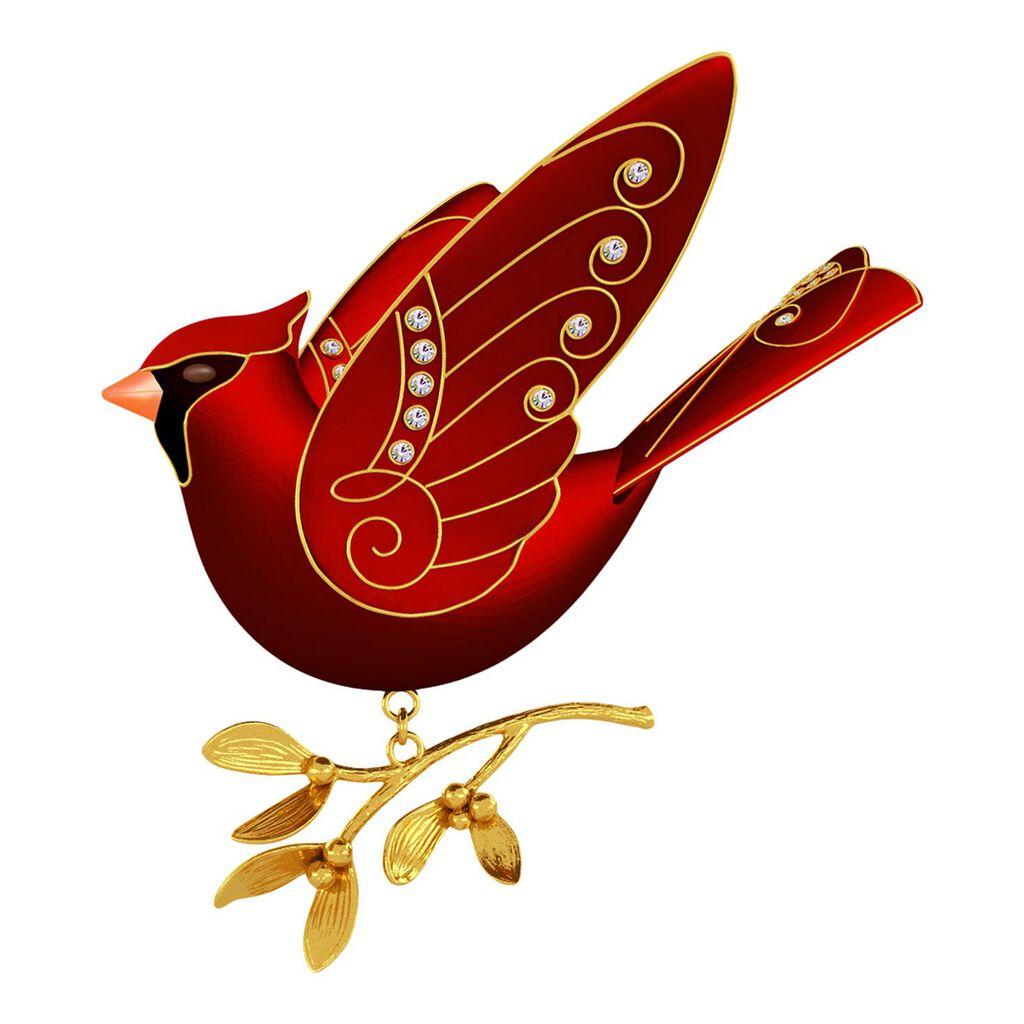 Top Ruby Red Cardinal Premium Ornament - Keepsake Ornaments - Hallmark BS45