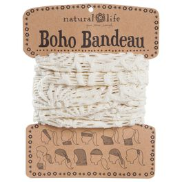 Natural Life Crochet Boho Bandeau Cream, , large