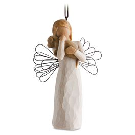 Willow Tree® Angel of Friendship Ornament, , large