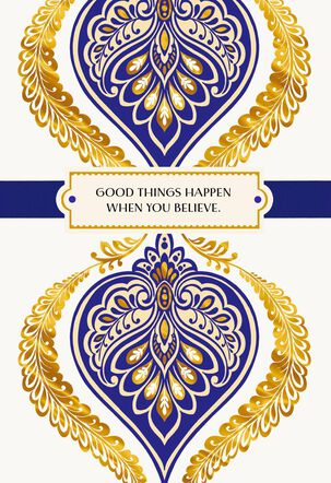 Good Things Happen Congratulations Card