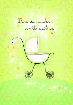 Sweet Baby Carriage Baby Shower Card