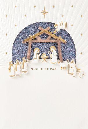 Noche de Paz Spanish-Language Christmas Card