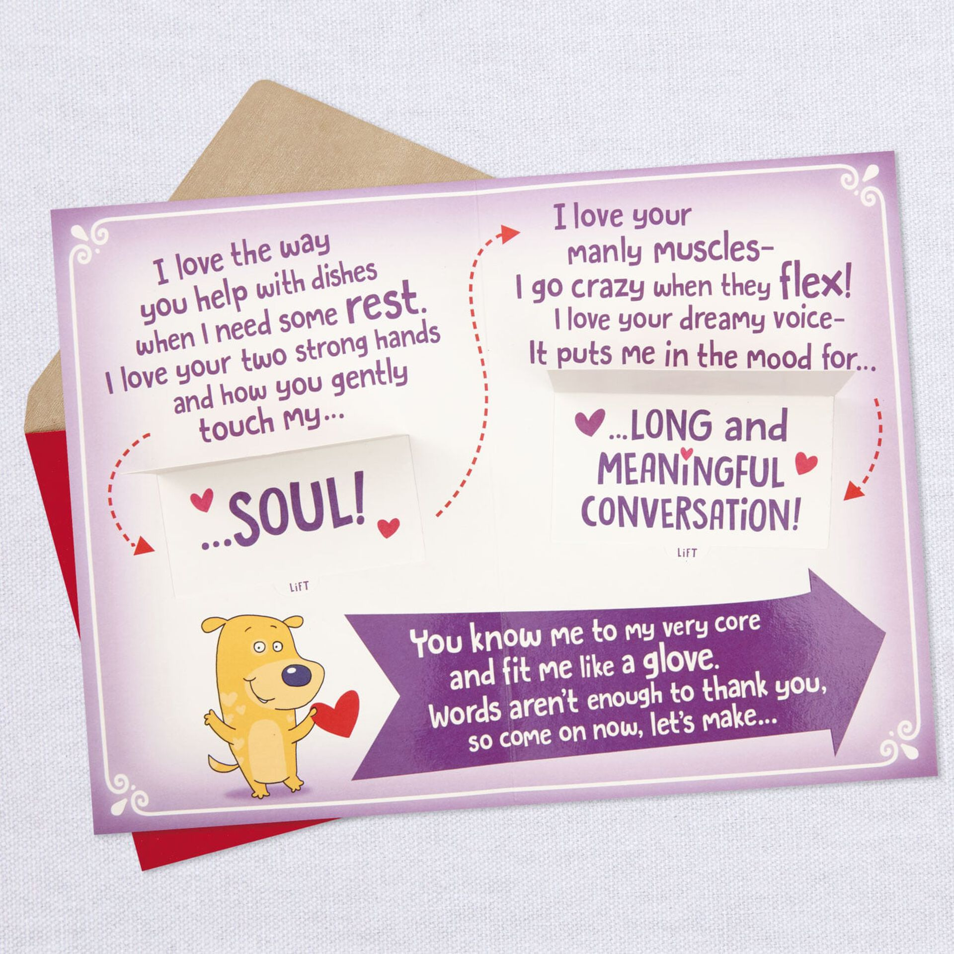 Great Guy Poem Hallmark Funny Valentines Day Card for Husband