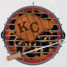 Kansas City BBQ Grillin' KC Ornament, , large