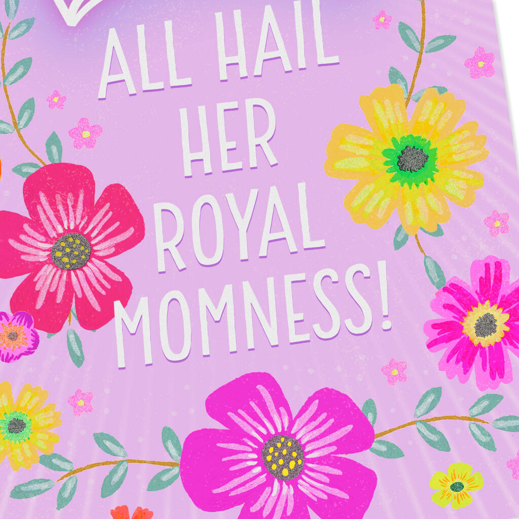 All Hail Her Momness Jumbo Mother's Day Card, 19 25