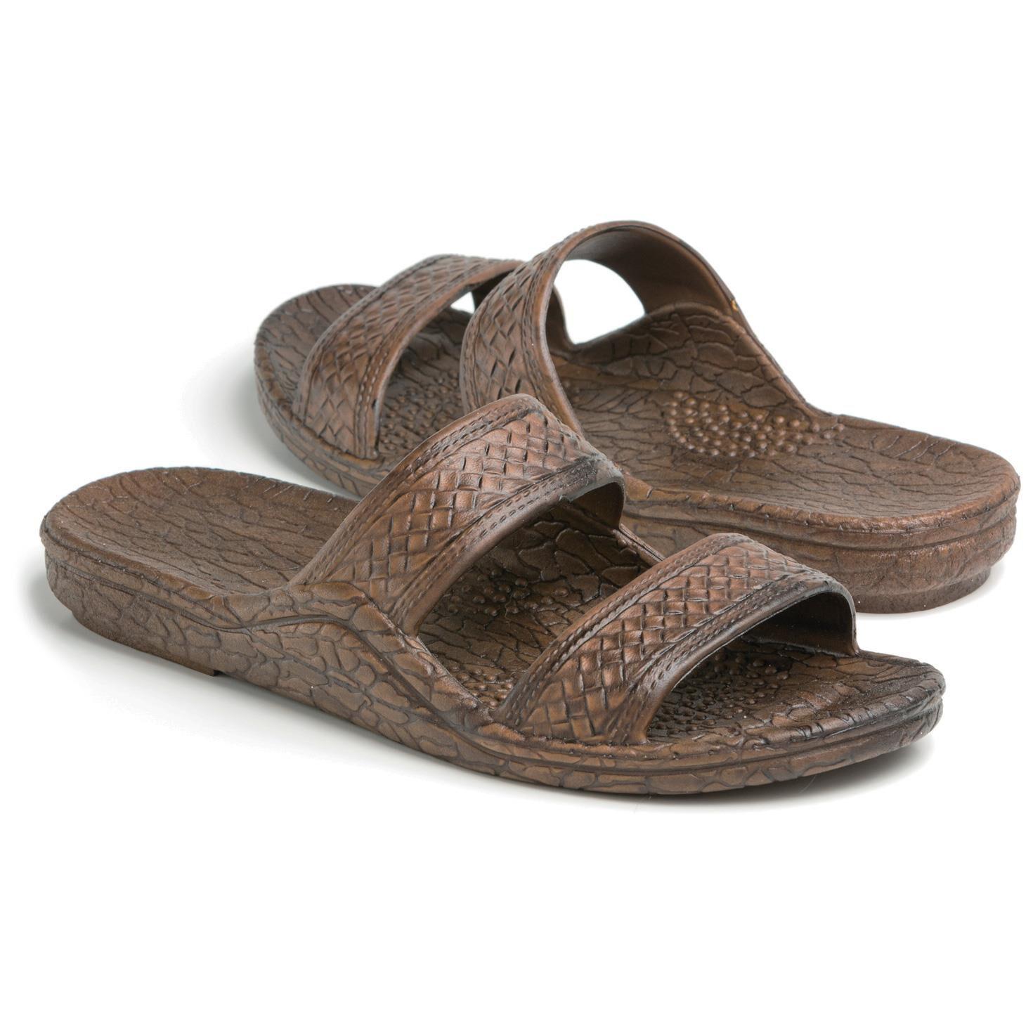 Pali Hawaii® Brown Jesus Jandal Sandal - Socks   Shoes - Hallmark 97550f631