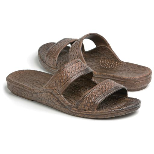 494f9baa45b Pali Hawaii® Brown Jesus Jandal Sandal