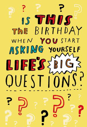 Old Age Funny Birthday Card