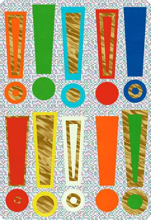 """Exclamation Points Jumbo Congratulations Card, 16.25"""""""