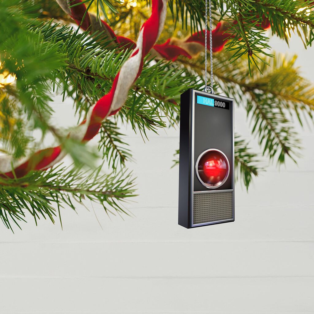 2001 A E Odyssey Hal 9000 50th Anniversary Ornament With Light And Sound