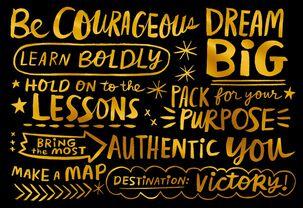 Jill Scott Beautiful Purpose Graduation Card