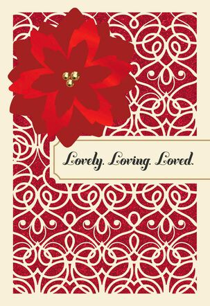 Lovely and Loving Wife Christmas Card