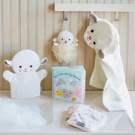 Lamb Baby Bath Set, , large
