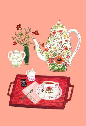 Tea Time Mother's Day Card