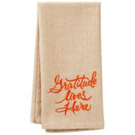 Gratitude Tea Towel, , large