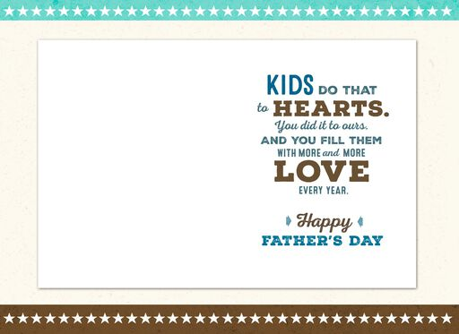 Son Full of Love Father's Day Card,