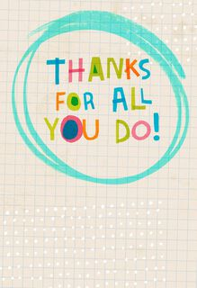 Magic Marker Funny Admin Professionals Day Card,