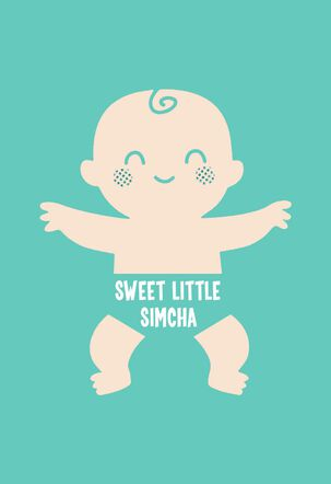 Sweet Little Boy New Baby  Card