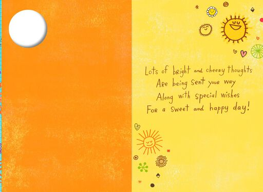 Sunny Smiles Grandparents Day Card,