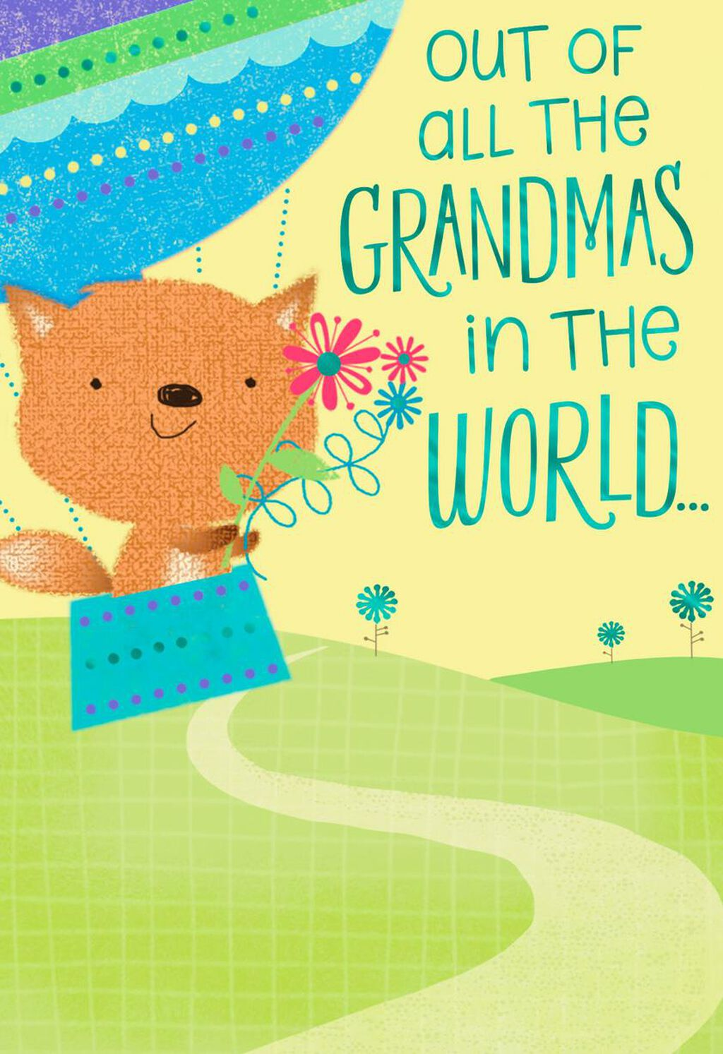 Perfect Grandma Birthday Card From Grandson