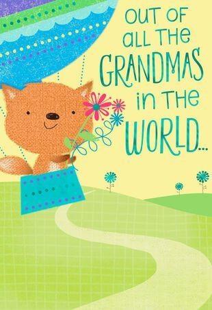 Perfect Grandma Birthday Card From Grandson