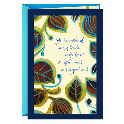 A Good Dad And Man Fathers Day Card From Parents