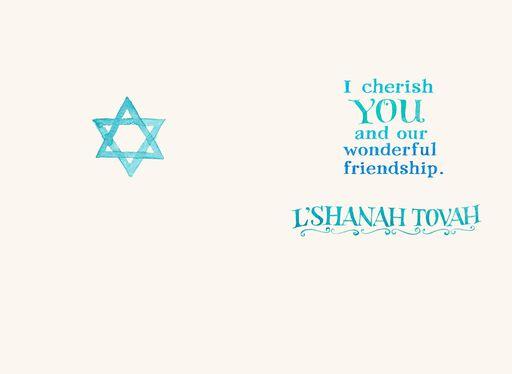 Watercolor L'Shanah Tovah Rosh Hashanah  Card,