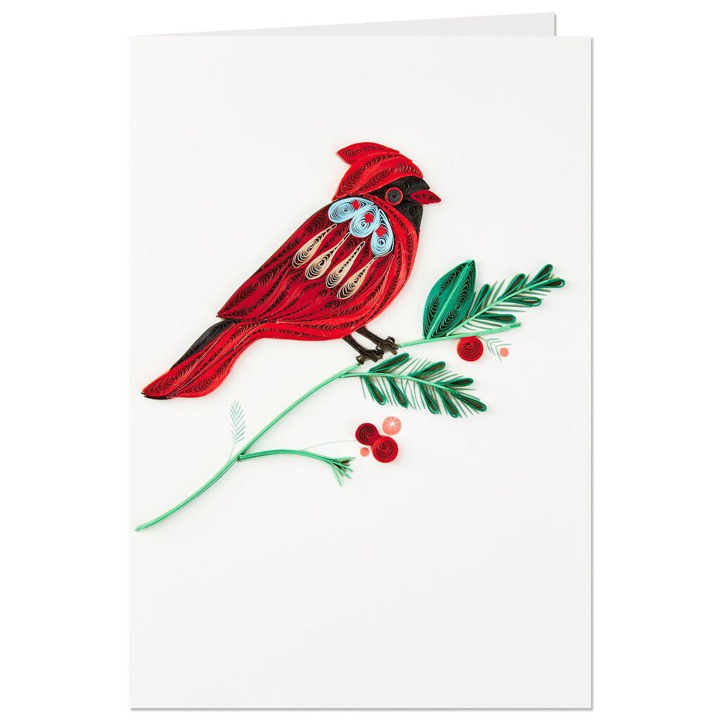 Cardinal Bird Frameable Art Christmas Card Greeting Cards Hallmark