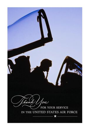 United States Air Force Veterans Day Card