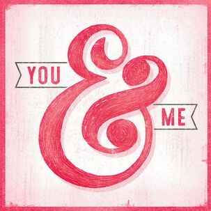 You & Me Musical Valentine's Day Card