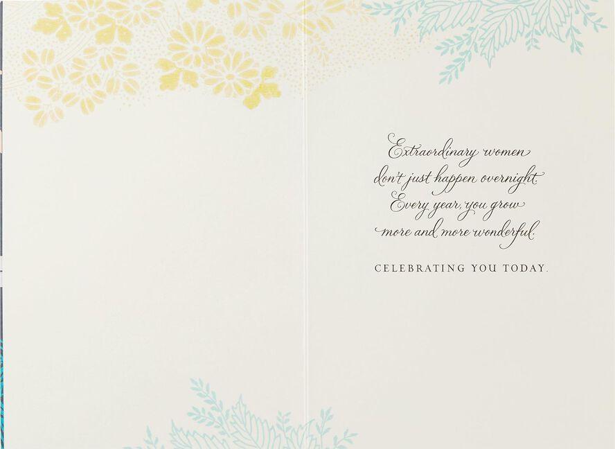 Extraordinary Woman Birthday Card Greeting Cards Hallmark