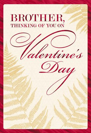 Proud of You, Brother Valentine's Day Card