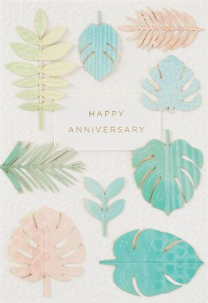Never-Ending Honeymoon Anniversary Card