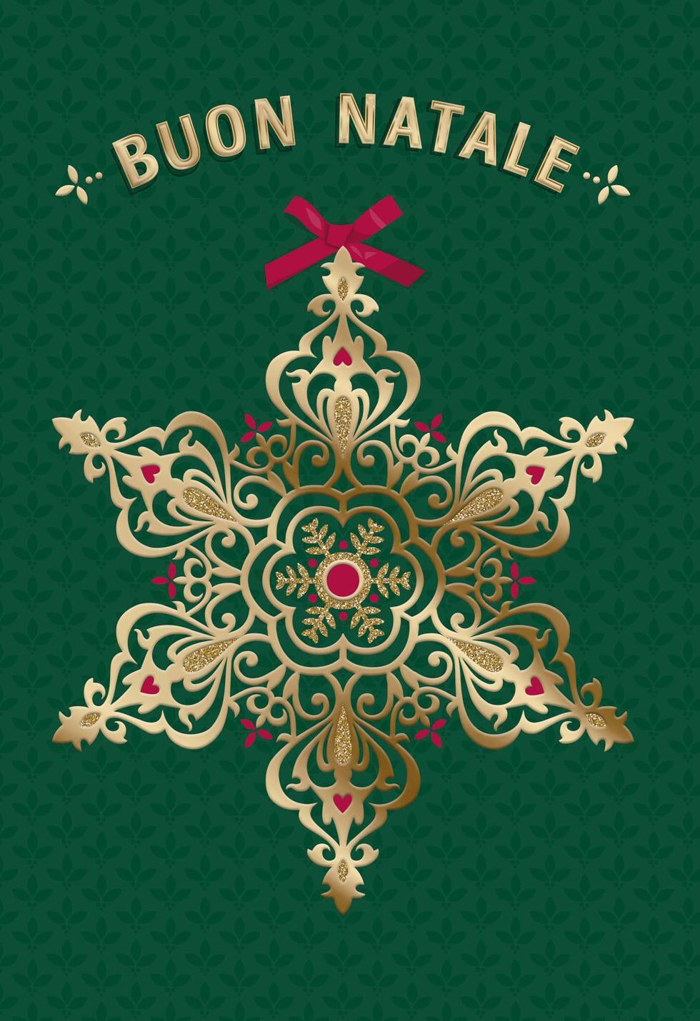 Buon natale e buon anno italian language christmas card greeting buon natale e buon anno italian language christmas card greeting cards hallmark kristyandbryce Images
