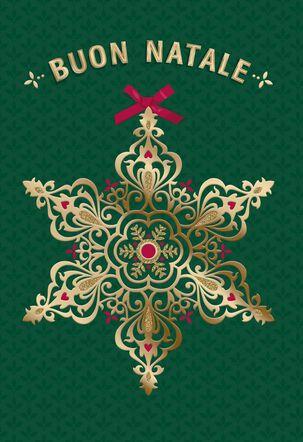 Buon Natale e Buon Anno Italian-Language Christmas Card