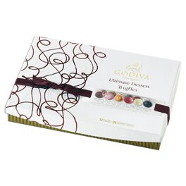 Godiva Chocolatier Ultimate Dessert Truffles Collection in Box, 24 Pieces, , large