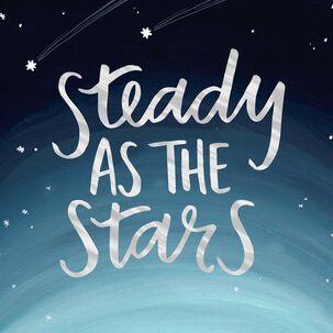 Steady as the Stars Love Card