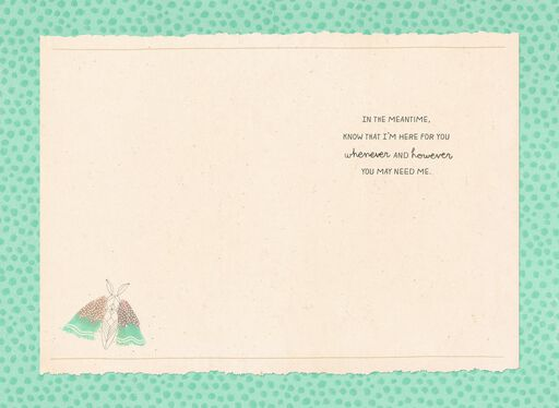 Watercolor Butterflies Encouragement Card,