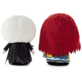 itty bittys® Tim Burton's The Nightmare Before Christmas Jack Skellington and Sally Stuffed Animals, Set of 2,