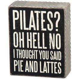 Primitives by Kathy Pie & Lattes Box Sign, , large
