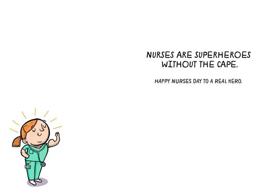 Nurses day greeting cards real hero funny nurses day card m4hsunfo
