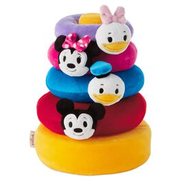 itty bittys® Mickey Mouse and Friends Baby Stuffed Animal Stacker, , large