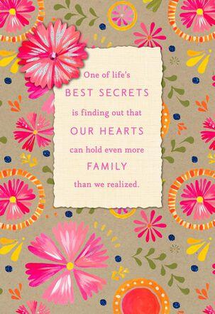 You're In My Heart, Stepmom Birthday Card