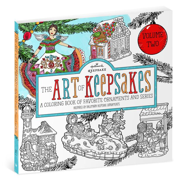 The Art Of Keepsakes Volume 2 Coloring Book For Adults