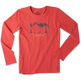 Life is Good® Women's Horse Long Sleeve T-Shirt, , large