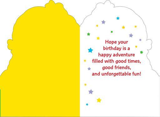 Rainbow Brite and Twink Happy Adventure Birthday Card,